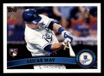 2011 Topps #91  Lucas May  Front Thumbnail