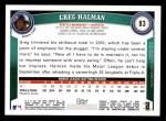 2011 Topps #83  Greg Halman  Back Thumbnail