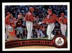 2011 Topps #53   Diamondbacks Team Front Thumbnail