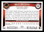 2011 Topps #88  Brian Boqusevic  Back Thumbnail