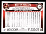 2011 Topps #89  Placido Polanco  Back Thumbnail