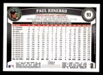 2011 Topps #93  Paul Konerko  Back Thumbnail
