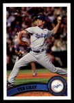 2011 Topps #36  Ted Lilly  Front Thumbnail