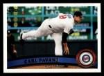 2011 Topps #186  Carl Pavano  Front Thumbnail