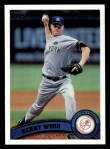 2011 Topps #189  Kerry Wood  Front Thumbnail