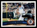 2011 Topps #175  Brennan Boesch  Front Thumbnail