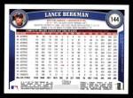 2011 Topps #144  Lance Berkman  Back Thumbnail