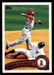 2011 Topps #118  Howie Kendrick  Front Thumbnail