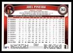 2011 Topps #263  Joel Pineiro  Back Thumbnail