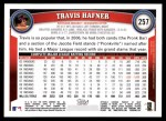 2011 Topps #257  Travis Hafner  Back Thumbnail