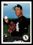 2011 Topps #223  Gregory Infante  Front Thumbnail