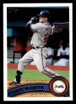 2011 Topps #227  Nate McLouth  Front Thumbnail