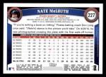 2011 Topps #227  Nate McLouth  Back Thumbnail