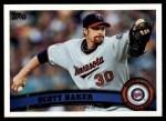 2011 Topps #354  Scott Baker  Front Thumbnail