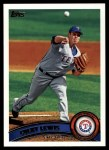 2011 Topps #352  Colby Lewis  Front Thumbnail