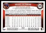 2011 Topps #495  Shane Victorino  Back Thumbnail