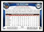 2011 Topps #409  Vin Mazzaro  Back Thumbnail