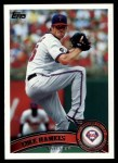2011 Topps #460  Cole Hamels  Front Thumbnail