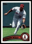 2011 Topps #525  Vernon Wells  Front Thumbnail