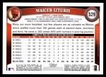2011 Topps #529  Maicer Izturis  Back Thumbnail