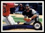 2011 Topps #560  Chris Iannetta  Front Thumbnail