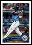 2011 Topps #578  Willy Aybar  Front Thumbnail