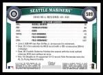 2011 Topps #589   Mariners Team Back Thumbnail