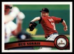 2011 Topps #534  Bud Norris  Front Thumbnail