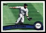 2011 Topps #531  Juan Rivera  Front Thumbnail