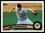 2011 Topps #644  Joel Hanrahan  Front Thumbnail