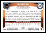2011 Topps #639  Pedro Beato  Back Thumbnail