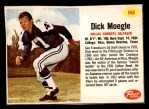 1962 Post Cereal #143  Dick Moegle  Front Thumbnail