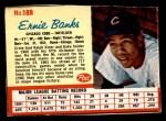 1962 Post #188  Ernie Banks   Front Thumbnail