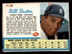 1962 Post #18  Bill Bruton   Front Thumbnail