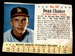 1963 Post #32  Dean Chance  Front Thumbnail