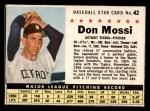 1961 Post #42 BOX Don Mossi   Front Thumbnail