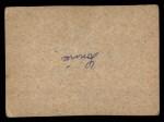 1961 Post Cereal #166 BOX John Roseboro   Back Thumbnail