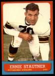 1963 Topps #129  Ernie Stautner  Front Thumbnail
