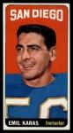 1965 Topps #162  Emil Karras  Front Thumbnail