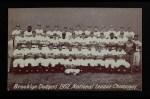 1947 Exhibits   Dodgers Team  Front Thumbnail