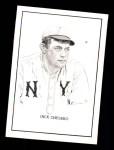 1950 Callahan Hall of Fame  Jack Chesbro  Front Thumbnail