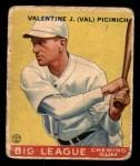 1933 Goudey #118  Val Picinich  Front Thumbnail