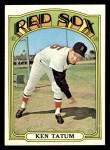 1972 Topps #772  Ken Tatum  Front Thumbnail