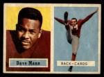 1957 Topps #50  Dave Mann  Front Thumbnail