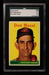 1958 Topps #35 YT Don Mossi  Front Thumbnail