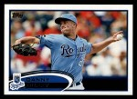 2012 Topps #194  Danny Duffy  Front Thumbnail