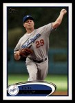 2012 Topps #122  Ted Lilly  Front Thumbnail