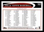 2012 Topps #167   -  Starlin Castro Record Breaker Back Thumbnail