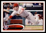 2012 Topps #361  Chase Utley  Front Thumbnail