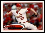 2012 Topps #490  Chris Carpenter  Front Thumbnail